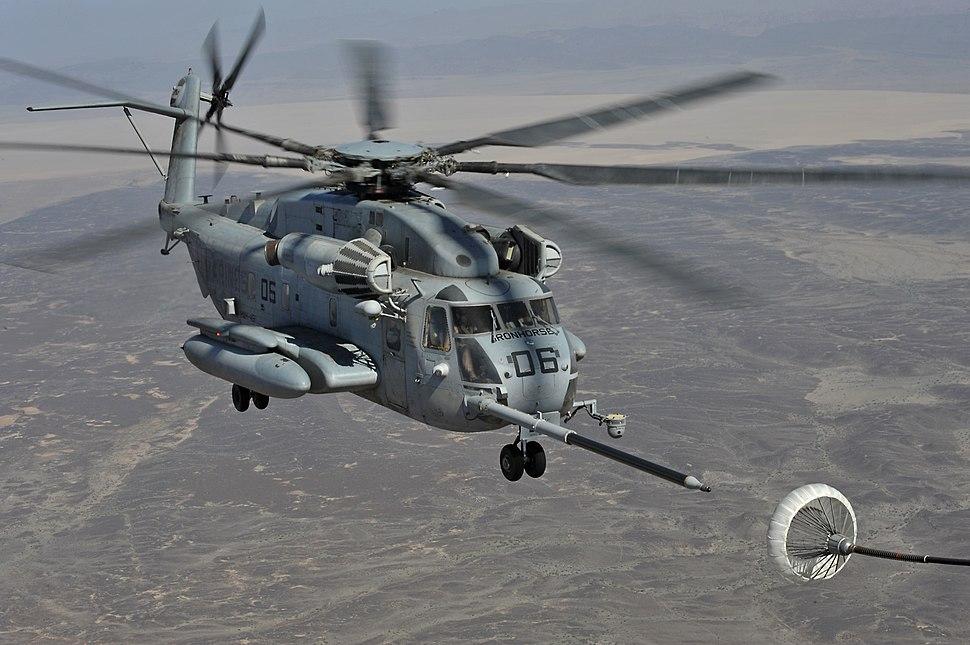 Sikorsky CH-53E (USMC) Air Refueling