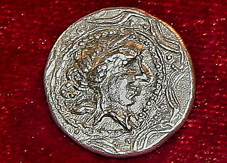History of coins in Romania - Silver Koson found at Dealu Budii arges county Romania