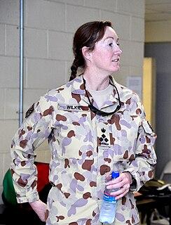Simone Wilkie retired Australian Army officer