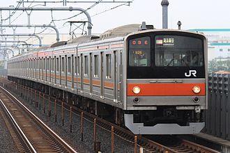 Musashino Line - Image: Simousa 03