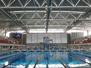 Singapore Sports Hub - Image: Singapore Aquatic Centre
