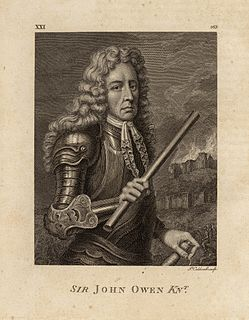 John Owen (Royalist) Welsh Royalist officer