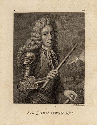 John Owen (Royalist) - John Owen, from A Tour in Wales by Thomas Pennant.