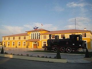 Sivas railway station