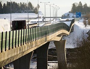 Skjeggestad Bridge - The collapsed bridge