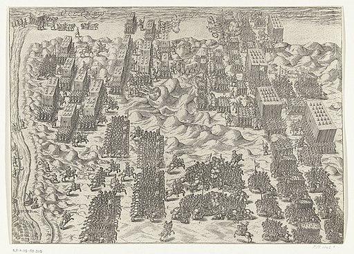 Slag bij Nieuwpoort, 1600, RP-P-OB-80.510