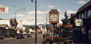 Smithers, British Columbia - Main Street Smithers (1989)