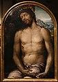 Sodoma, testate di cataletto dalla compagnia della morte di siena, 1526-27 (siena, opera del duomo) 04 cristo in pietà.jpg