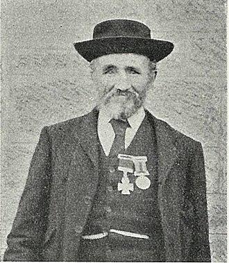 New Zealand Cross (1869) - Sergeant Solomon Black