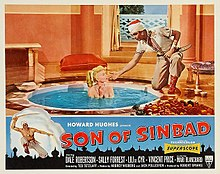 Description de l'image Son of Sinbad 1955 poster.jpg.
