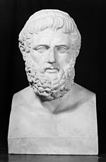 Sophocles, from the bust in the Lateran, Rome. Wellcome M0015415.jpg