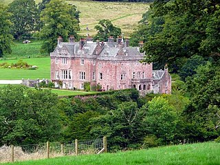 Sorn Castle castle in East Ayrshire, Scotland, UK
