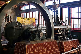 Soulé Steam Feed Works - Watts-Campbell Corliss steam engine acquired in 2008