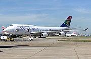 South African Airways Boeing 747-400