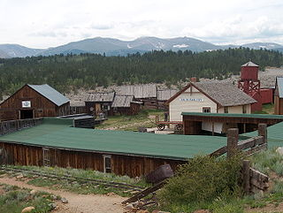 South Park City Open air museum in Fairplay, Colorado