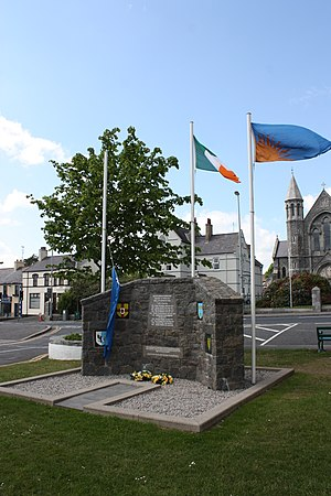 South Down Command Memorial, Castlewellan, May 2010 (01).JPG
