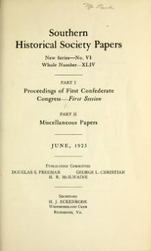 Southern Historical Society Papers volume 44.djvu