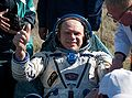SoyuzTMA17 landing Oleg Kotov.jpg