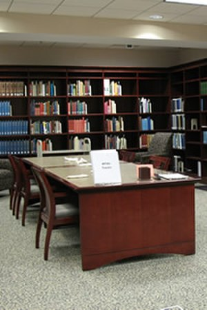 James E. Walker Library - Image: Special Collections reading room in the James E. Walker Library