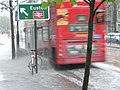 Splashing along Euston Road - geograph.org.uk - 1040414.jpg