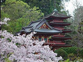 jardn japons hagiwara de san francisco spring in golden gate parkjpg - Jardines Japoneses