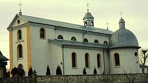 Lysiatychi - Image: St.Nicolas church (1903, stone). Lysyatychi