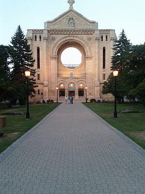 Saint Boniface, Winnipeg - St Boniface Cathedral