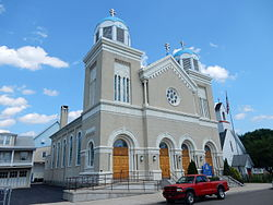 St. Michael Orthodox Church in St. Clair. August 2015.
