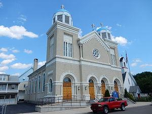 St. Clair, Pennsylvania - St. Michael Orthodox Church in St. Clair, 2015