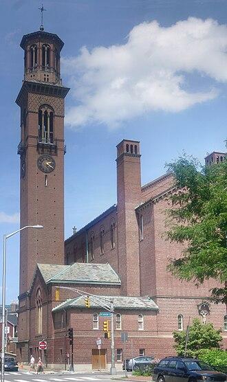 St. Paul's Choir School - Image: St. Paul Church Cambridge Massachusetts stitch