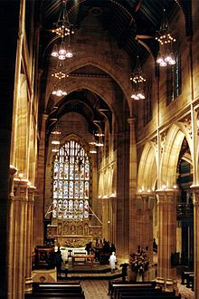 St Andrew's Cathedral, Sydney - Wikipedia