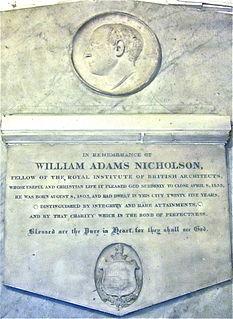 William Adams Nicholson architect