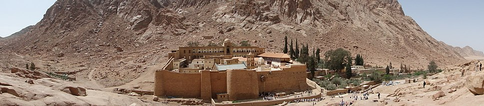 Панорама - Манастира Св. Катарине