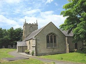 St Ceinwen's Church, Llangeinwen - Image: St Ceinwen's Church, Llangeinwen geograph.org.uk 838772