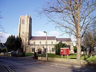 Littleport, Cambridgeshire - Image: St George's Church, Littleport geograph.org.uk 112543