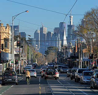St Georges Road, Melbourne road in Melbourne, Victoria