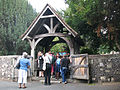 St Martin's church, Canterbury, lych gate - geograph.org.uk - 1404710.jpg