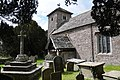 St Marys, Tregaer, Churchyard cross - geograph - 3440998.jpg