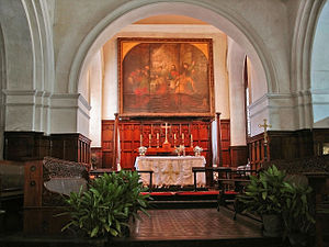 St. Mary's Church, Chennai - The altar of the church