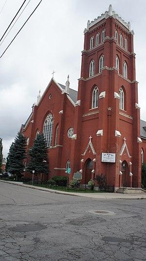 Roman Catholic Diocese of Hamilton, Ontario - Image: St Marys Pro Cathedral Hamilton