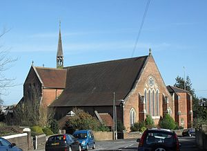 St Luke's United Reformed Church, Silverhill, Hastings - St Matthew's Church, the Anglican church in Silverhill, initially attracted some worshippers away from William Boyd's chapel when it opened in May 1861.