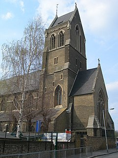 St. Matthias Church, Stoke Newington church in Stoke Newington, London