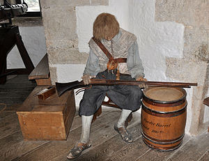 Device Forts - Reconstruction of life amongst the 16th-century garrison at St Mawes Castle
