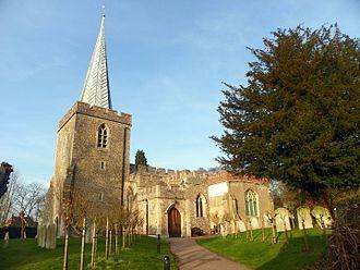 Thomas Alleyne - St Nicholas' Church