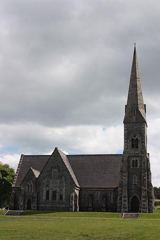 Castlewellan - St Paul's Church of Ireland, May 2010