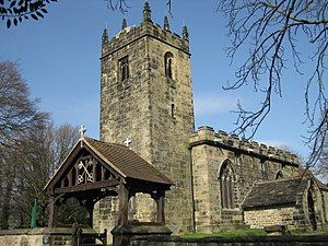 Tankersley, South Yorkshire - Image: St Peter's Church Tankersley 2017 01