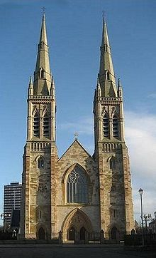 st peter s cathedral belfast wikipedia
