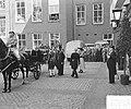 Staatsbezoek Franse president Coty aan Nederland. Amsterdam, middag rijtoer, aa…, Bestanddeelnr 906-6088.jpg