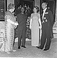 Staatsbezoek president Nyerere van Tanzania, gala-diner op Huis ten Bosch v.l.n., Bestanddeelnr 917-6733.jpg