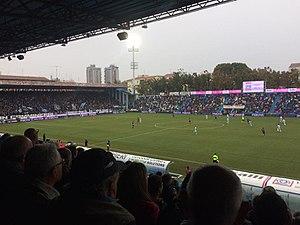 Stadio Paolo Mazza - Image: Stadio Paolo Mazza 2017 2018